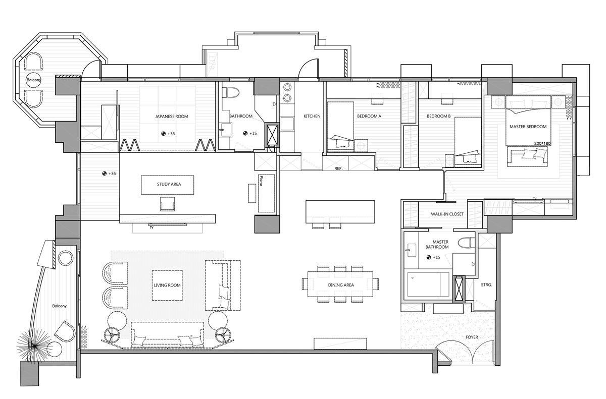 平面圖提供_尚藝室內設計有限公司
