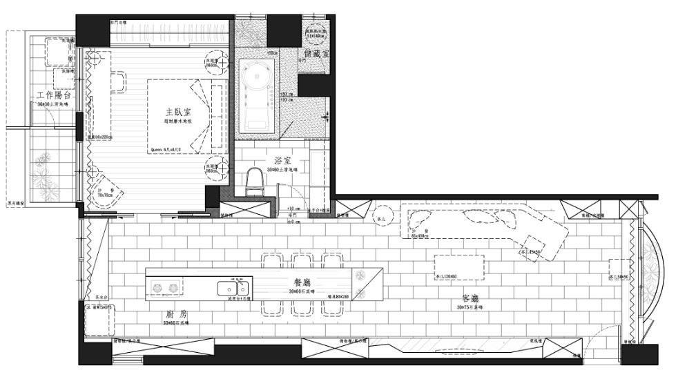 平面圖提供_九禾室內設計