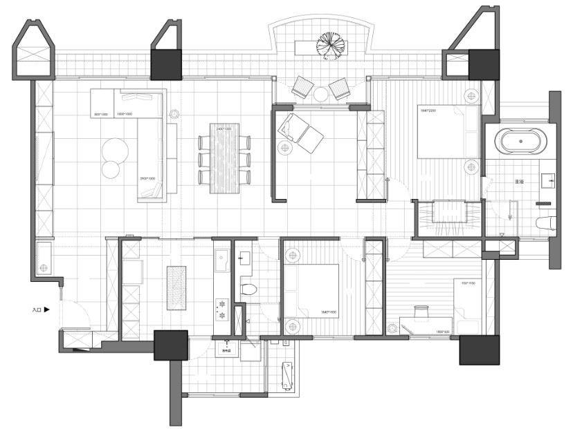 平面圖提供_十里空間設計