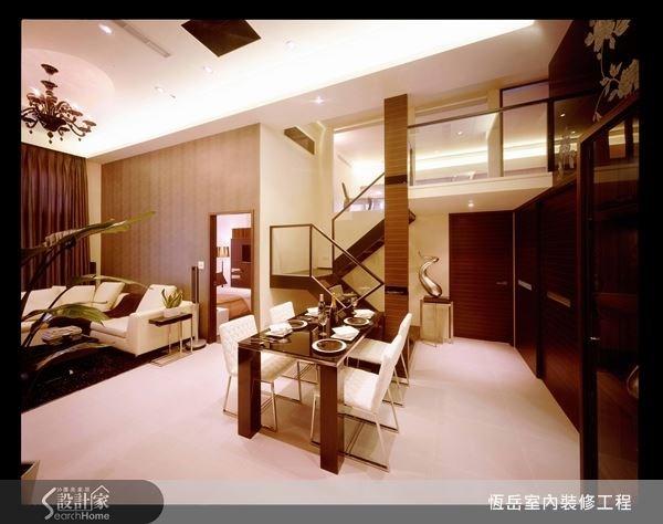 屋內使用高品質的建材元素,簡單設計就很有質感。