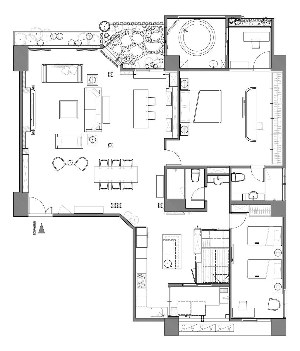 平面圖提供_蔚然空間設計