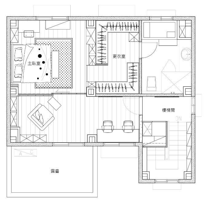 3 樓 平面圖提供_昱承室內設計