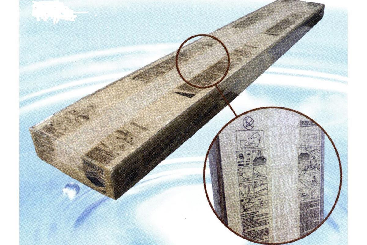 威肯雅飾所代理的羅賓地板使用環保包裝