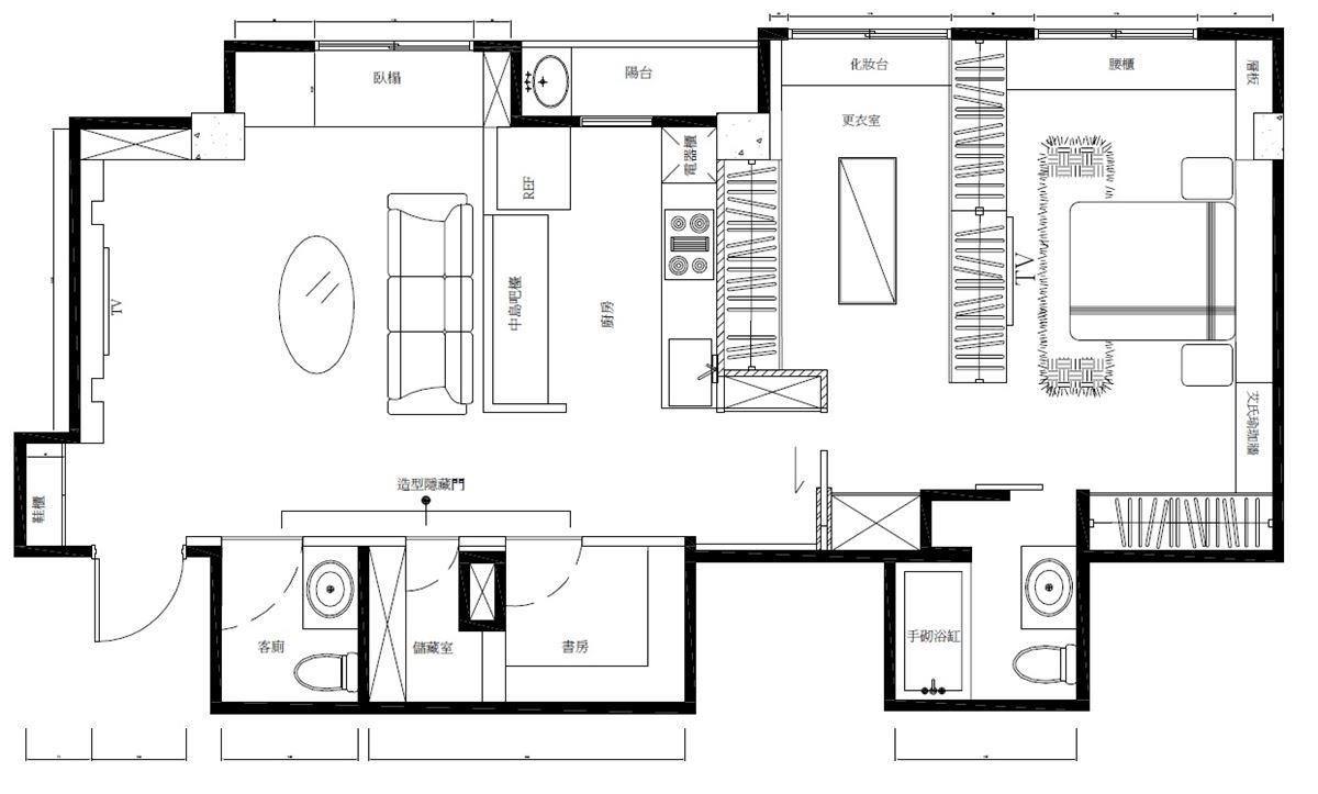 平面圖提供_寓䒳設計