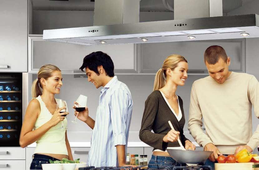 只要選對廚電產品,就可以輕鬆做出好菜,讓朋友擁有賓至如歸的感受。圖片提供_世磊實業