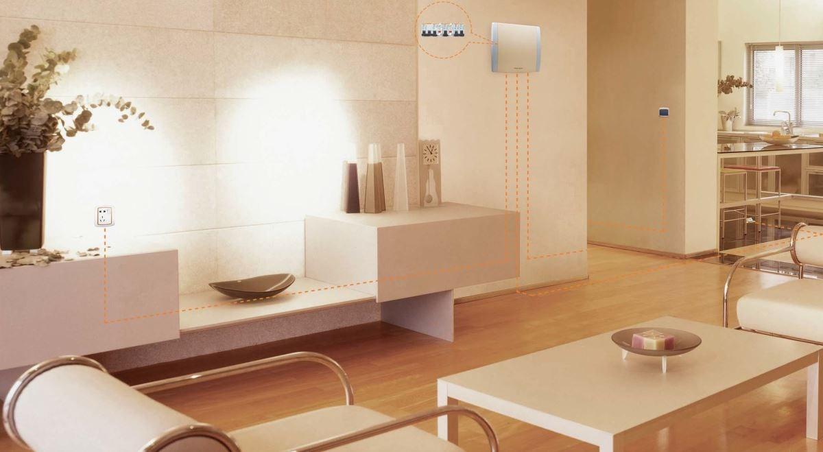 款式新穎的配電箱不僅功能齊全,甚至有許多色彩組合,還可跟空間色調作出搭配。圖片提供_施耐德電機
