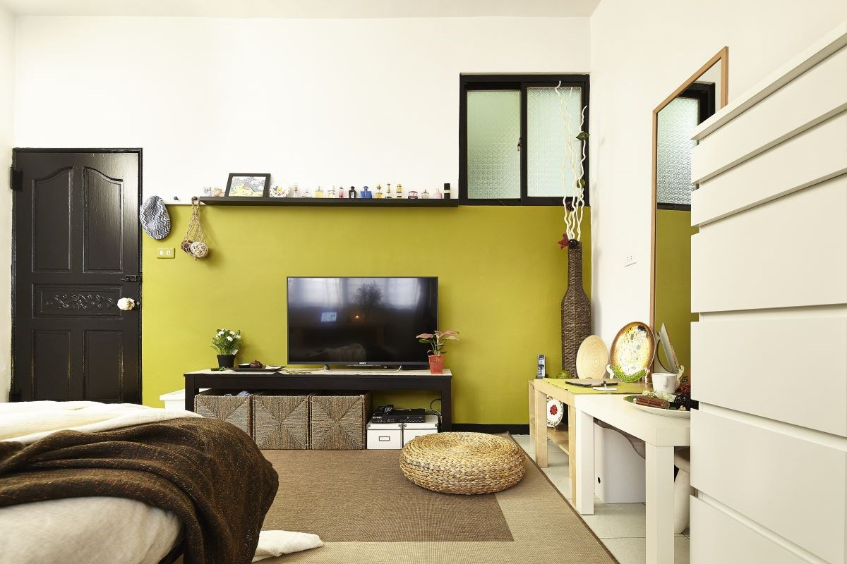 從收納、材質挑選上用心,讓居家生活更具愜意感。