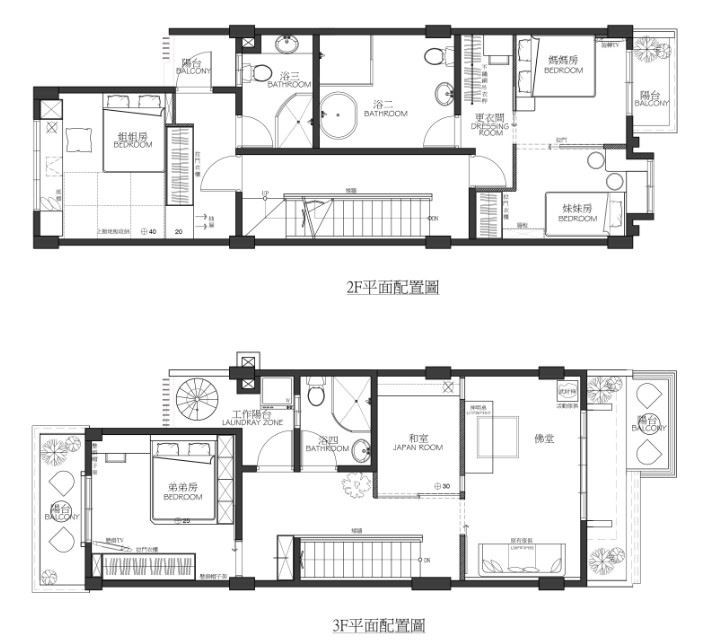 平面圖提供_堂藝時尚空間設計