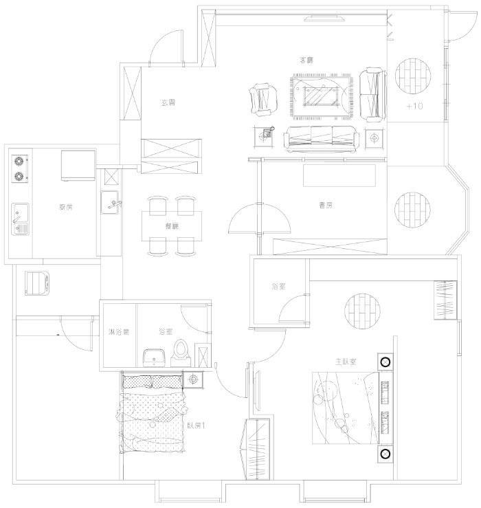 平面圖提供_101空間設計