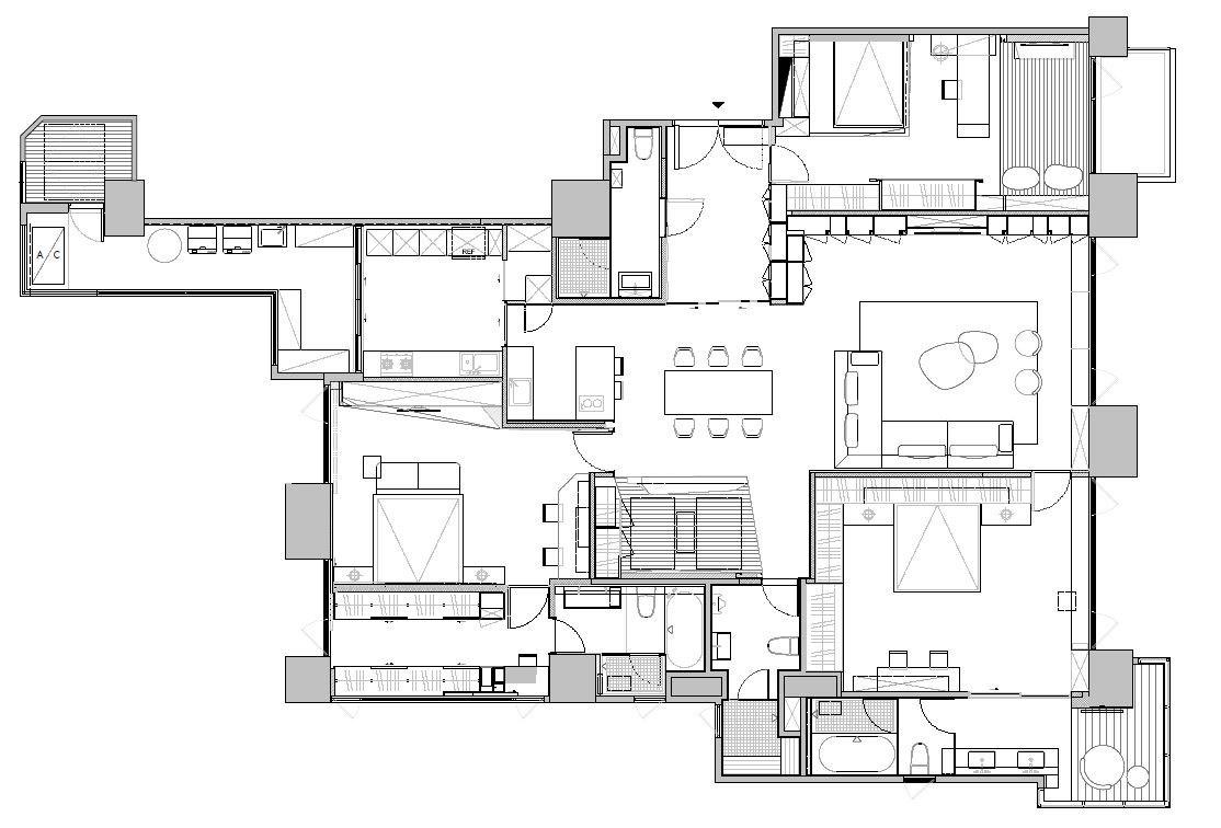 平面圖提供_傳十空間設計
