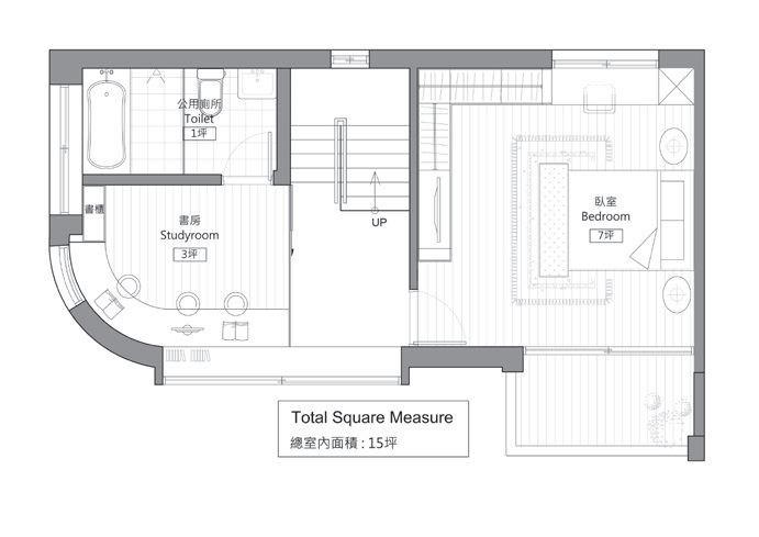 2 樓平面圖提供_好室設計