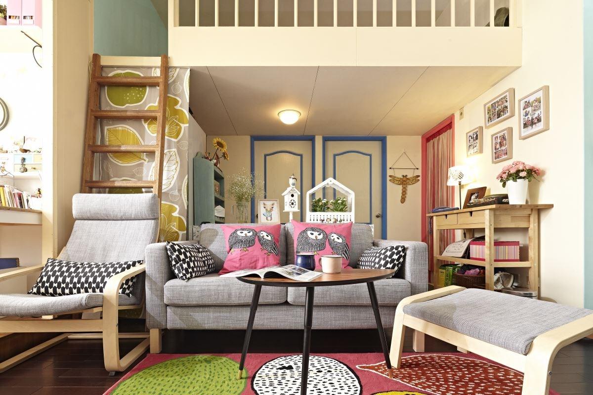 陳列大型家具,讓空間看起來變得更大,同時添入原木色調,創造出自然、溫暖的北歐原木鄉村風氣息。圖片提供_IKEA