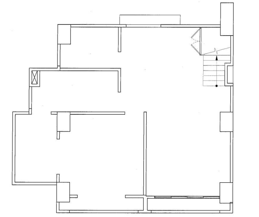 (圖 01 ) 1 樓_ Before _圖片提供_禾創室內設計