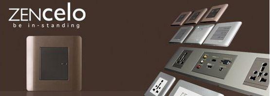 除了開關,Zencelo系列也包含了各種插座與配件模組