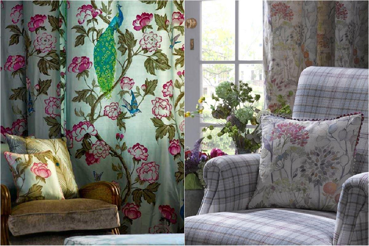 印花布最大特色就是能展現圖騰的每個細節,英國品牌 Voyage 印花布以擬真的水彩筆觸著稱,成為改變居家風格又不動裝修的絕佳小幫手。