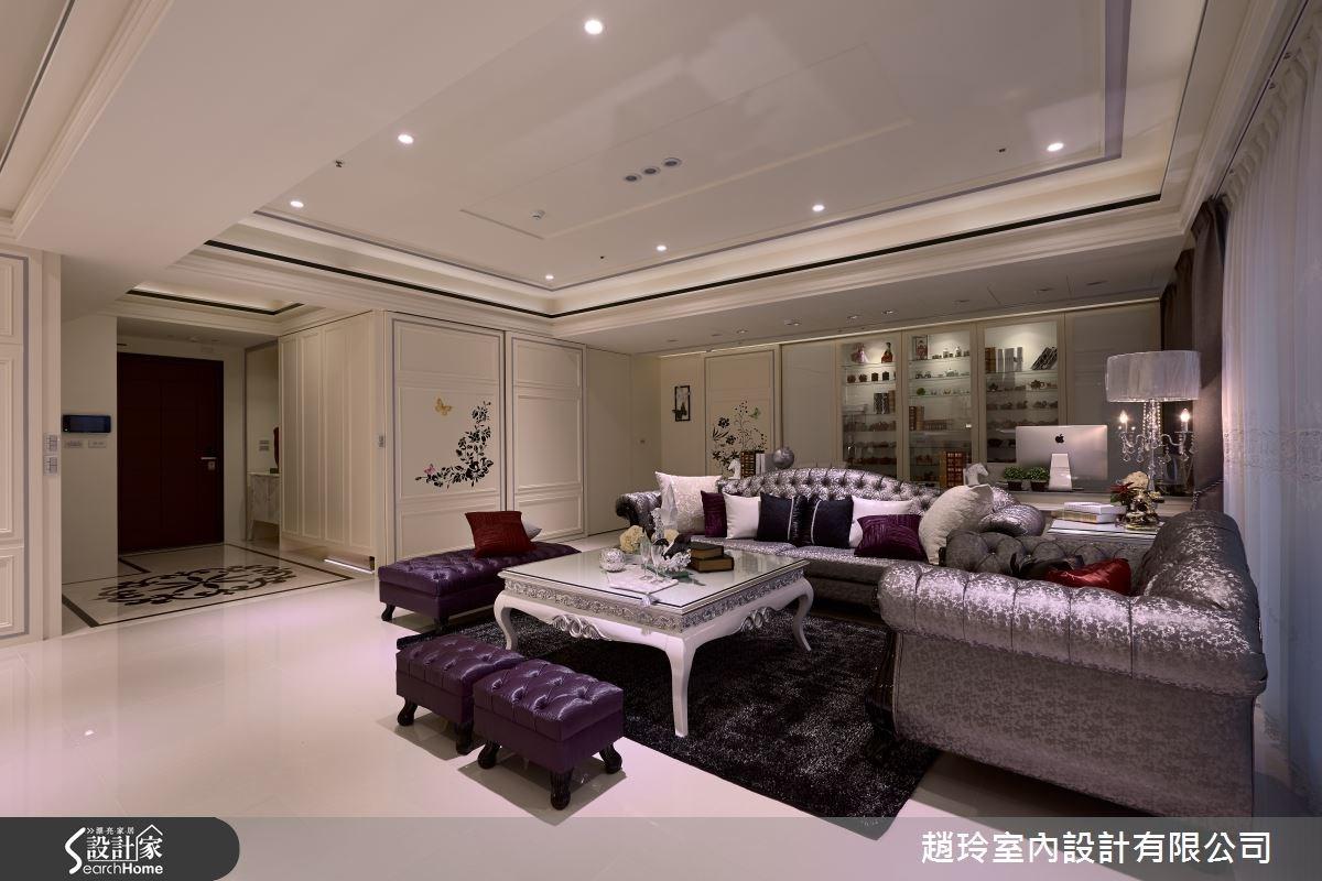 設計師將現代感、新古典與新潮科技做出完美融合,為一家四口打造獨一無二的居家空間!