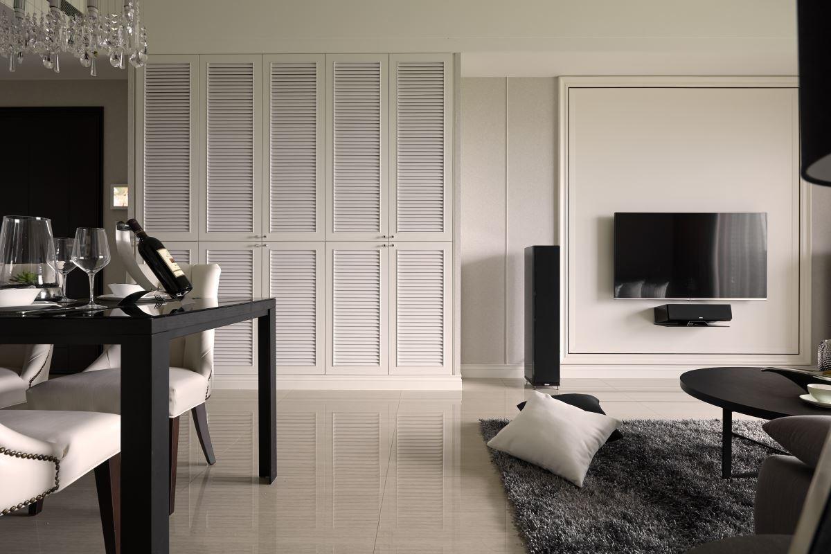 透過專業設計,輕裝修的空間風格也能有型有款,與眾不同。