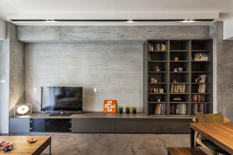 透過天、地、壁的整體規劃與施工,搭配機能櫥櫃設計,可以創造不同的空間氛圍。