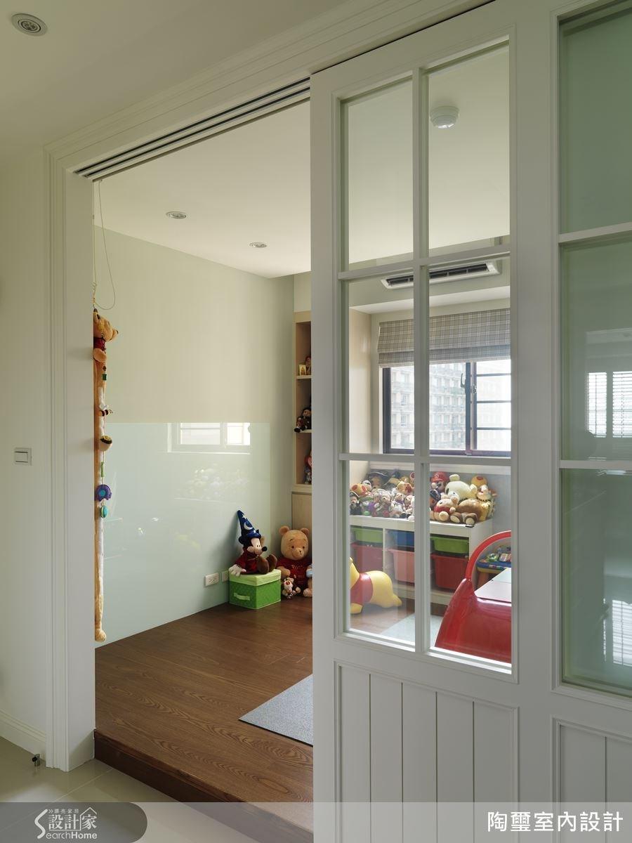 多功能室可作為小朋友的遊戲間,也具備臨時客房的彈性機能。