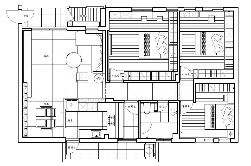 平面圖提供_震騰室內裝修設計工程有限公司
