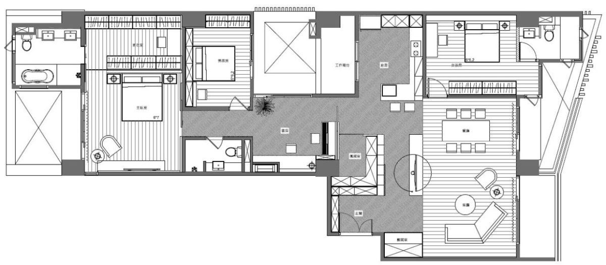 平面圖提供_諾禾空間設計有限公司