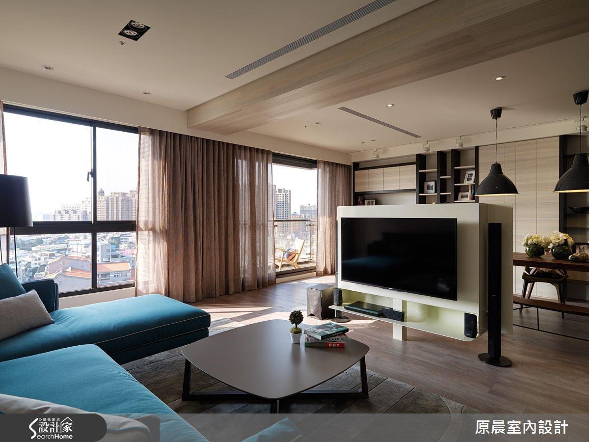 大面的落地窗將窗外的美麗景致帶入室內,住在這裡心情是愉悅的。