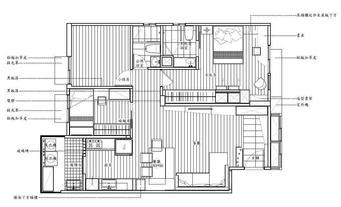 平面圖提供_ JDK 震騰室內裝修設計工程有限公司