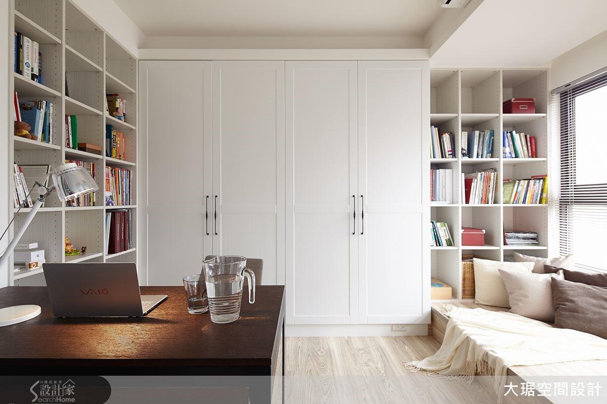 整齊有致的收納,讓居家空間簡潔俐落,人們的思緒也才能清晰。