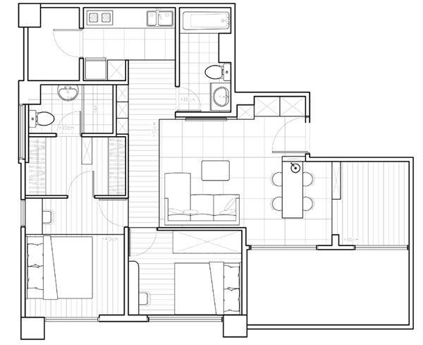 平面圖提供_綺寓空間設計