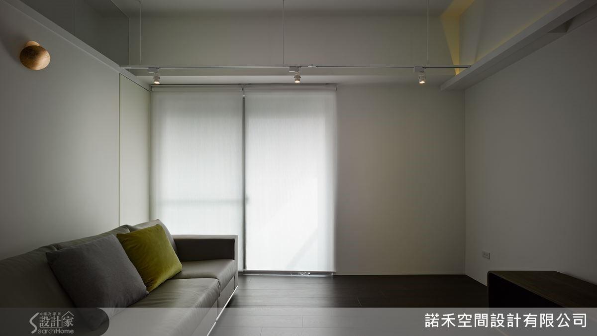 採化繁為簡的設計手法,以留白美營造寬廣效果,開啟無限的視覺遐想。