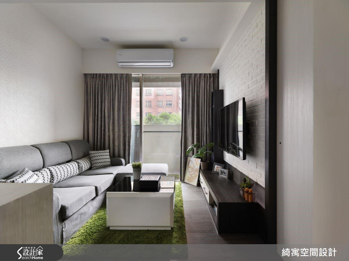 由於屋案本身的座向是坐西朝東,因此改善採光與通風條件後,整個屋子內部的環境舒適度也大幅提升!