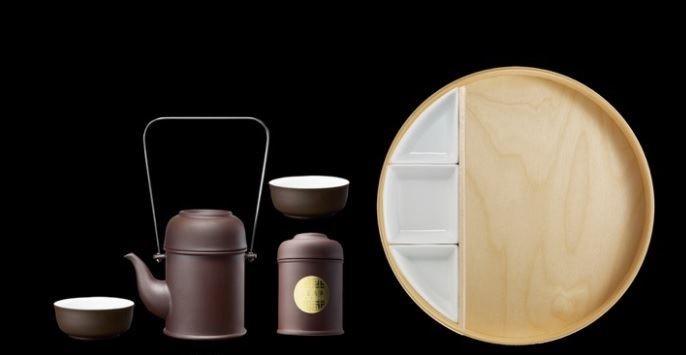 【品功夫茶具套】一托盤茶組閒逸輕鬆的品茶生活輕鬆隨取,時尚享受茶點與茶香的優閒雅致。圖片提供_玩美文創