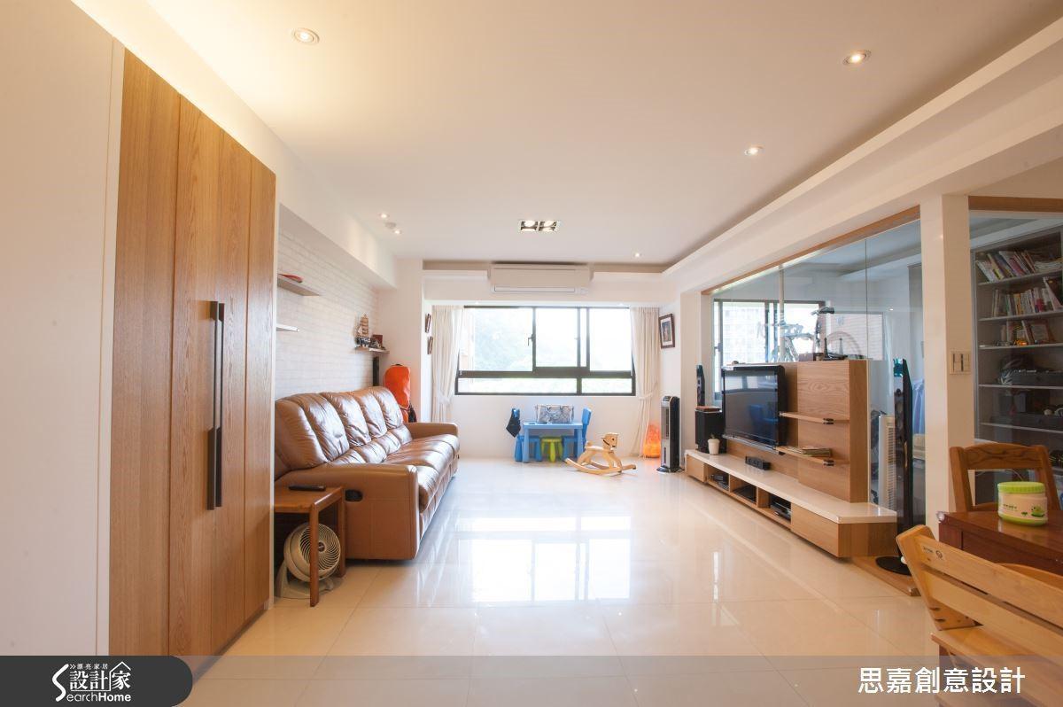 根據家具的色調與風格來創造相應的空間設計,讓舊家具在新空間裡也不會顯得格格不入,反而獲得煥然一新的生命感。