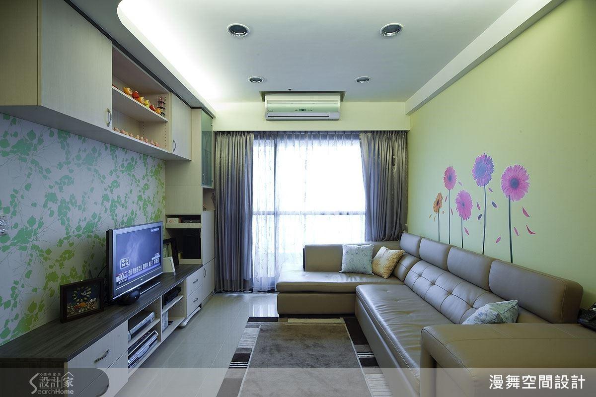 以簡潔俐落的現代風格,結合輕裝修設計概念,量身打造溫馨宅居。