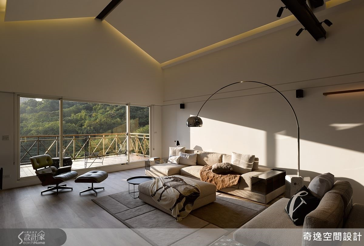 日出而作、日落而息的悠然人生,就從坐在客廳享受迷人的落日霞光開始。