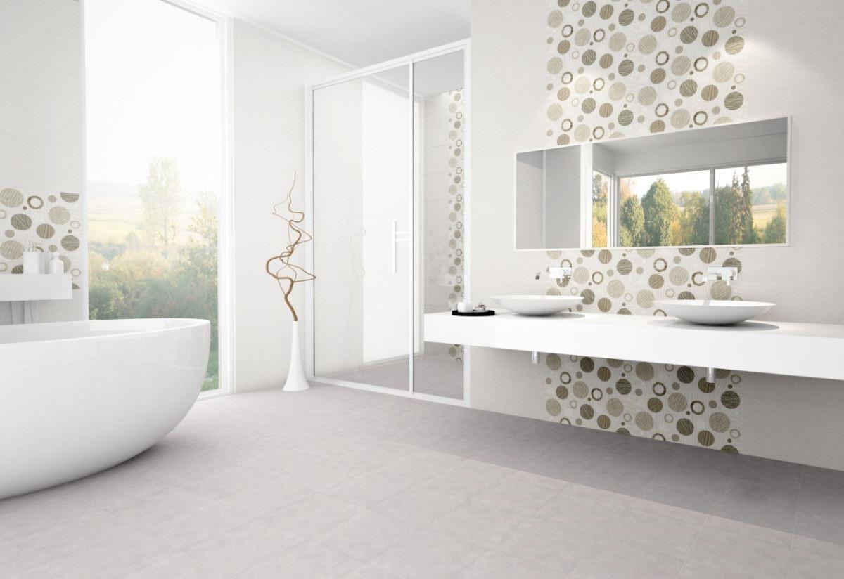 【米蘭系列】透過高科技噴墨演繹充滿時尚、浪漫氛圍的圖飾,以新穎的瓷質壁磚呈現義國風情的高品味質感。圖片提供_馬可貝里_3D圖示示意圖