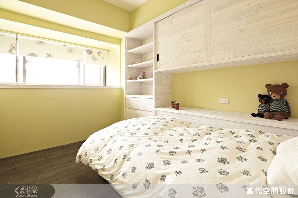 善加利用暖色調與具有自然感的材質,即便是極簡風格的居家空間,也可以擁有溫暖舒適的表情喔!