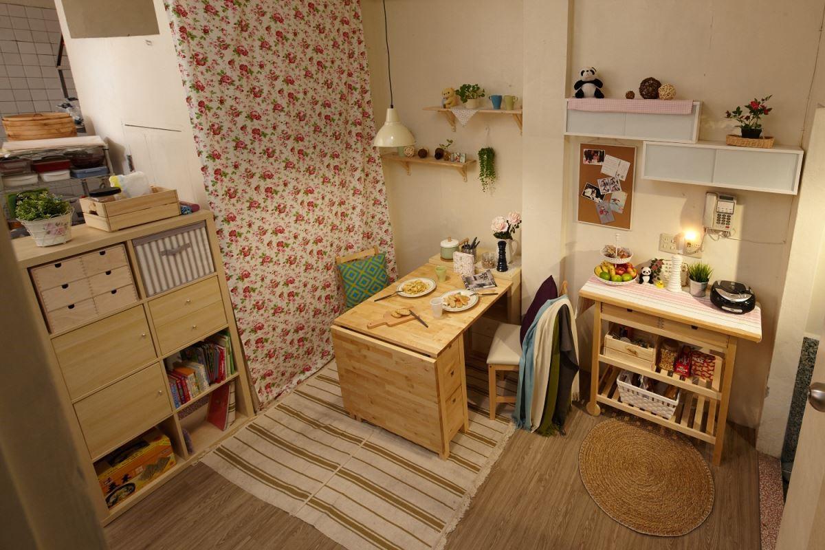 將家具、家飾合宜的搭配,創造出不一樣的居家表情。攝影_黃暉中
