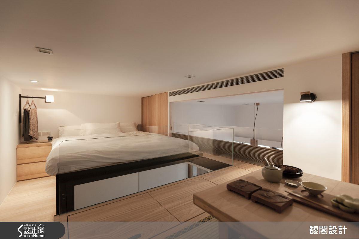 設計師施展互不衝突的空間美學,創造出小宅開闊度。