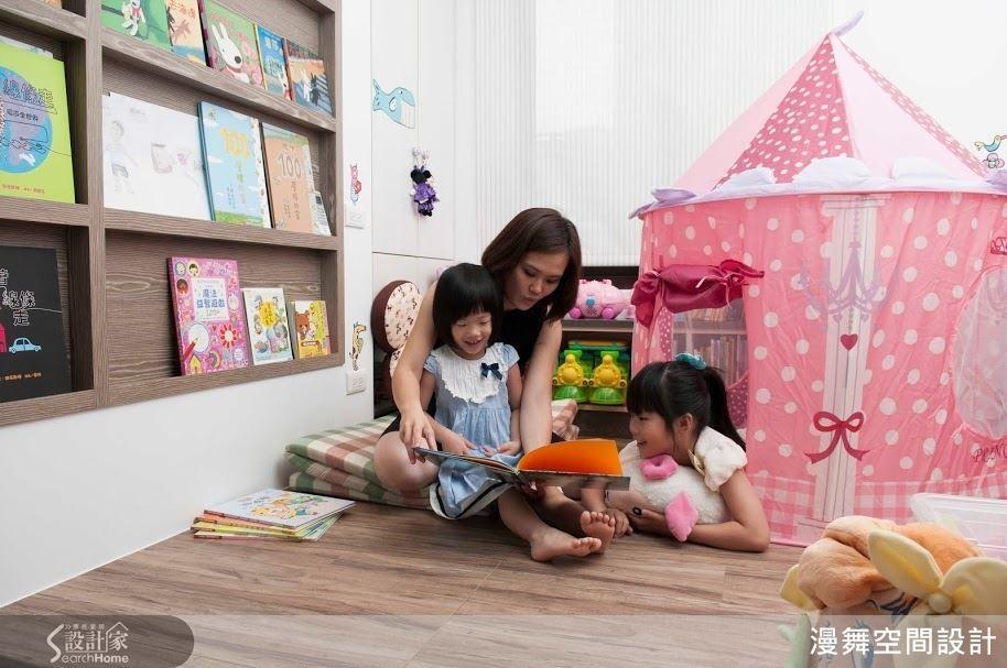 本身育有二個寶貝女兒的林育如設計師表示,與孩子一同閱讀的時光也是她最珍貴的靈感來源。