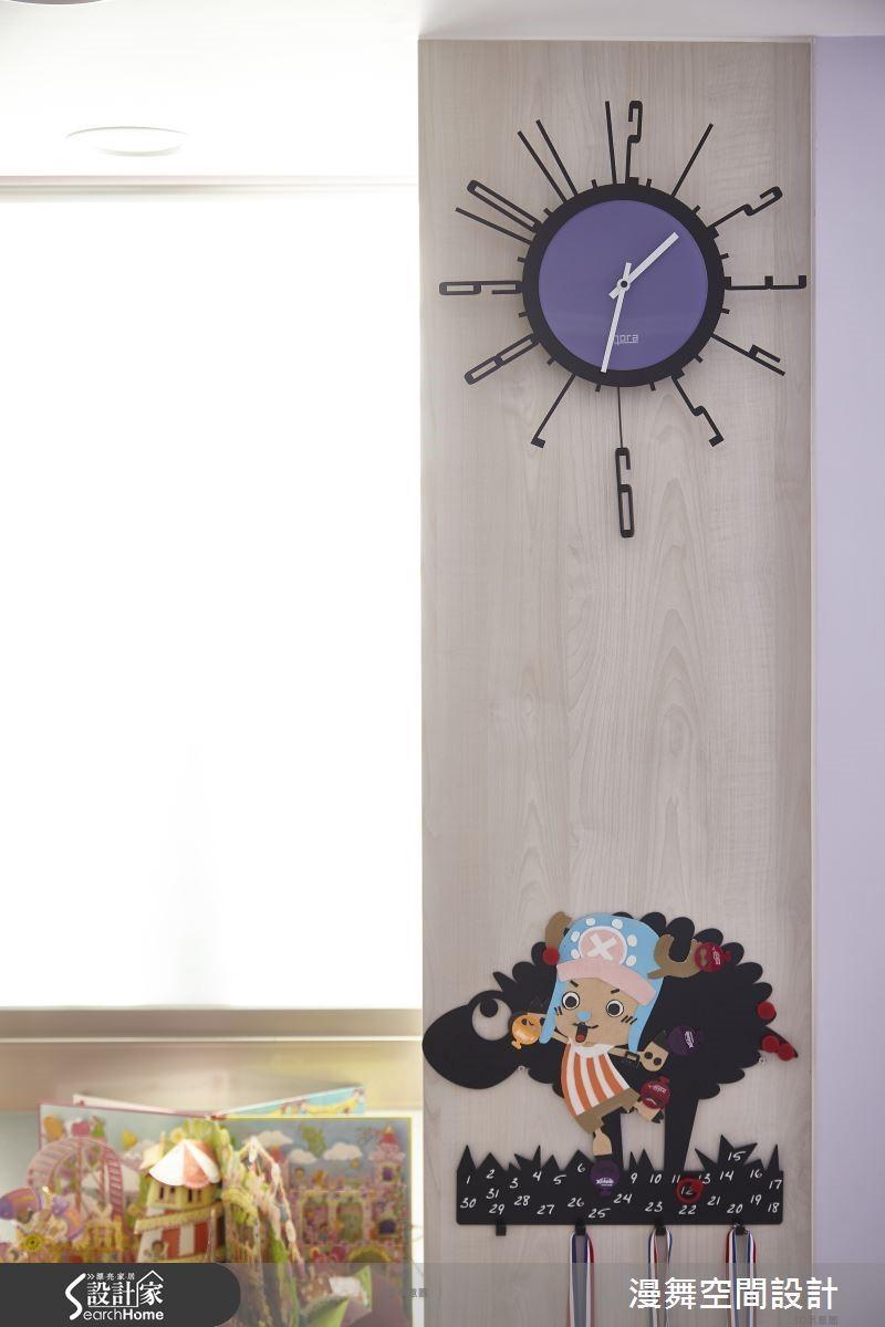 居家的小細節包括櫃體的把手、壁掛、時鐘,都可以是源源不絕的創意靈感哦!