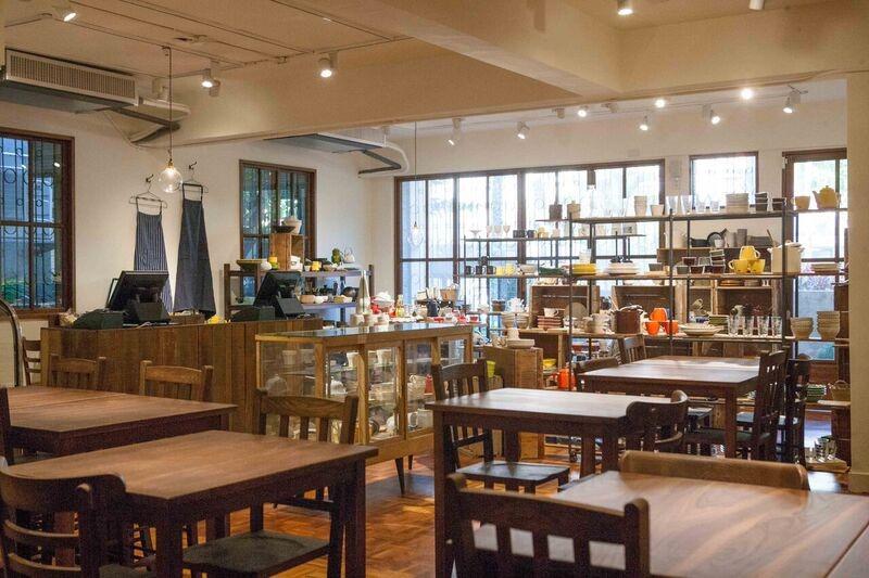 圖片提供_小器 X Macaroni cafe & bakery Taipei 開放式用餐空間,給予顧客放鬆療癒的氛圍。