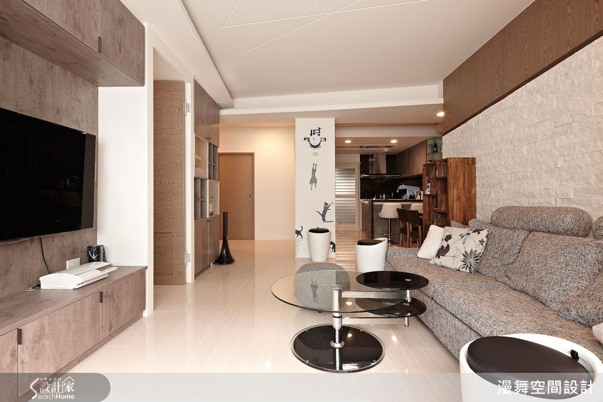 日系風格居家不只要有清爽的空間感,更要有生活的溫度注入其中。