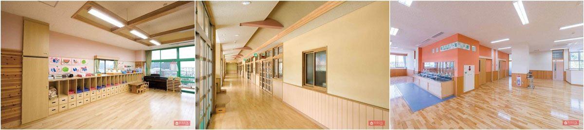 JULUX 居樂家功能型系列壁材已經廣泛的運用在教育空間,讓小朋友在優質的空氣品質中,健康安心地學習。
