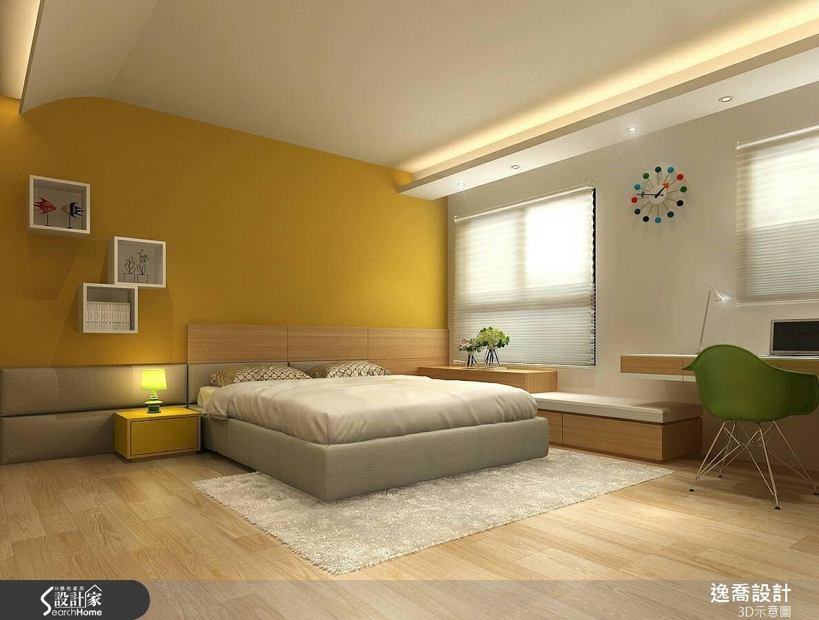 清爽的暖黃色調帶有溫和的氣質,也能創造明亮溫馨的意象。