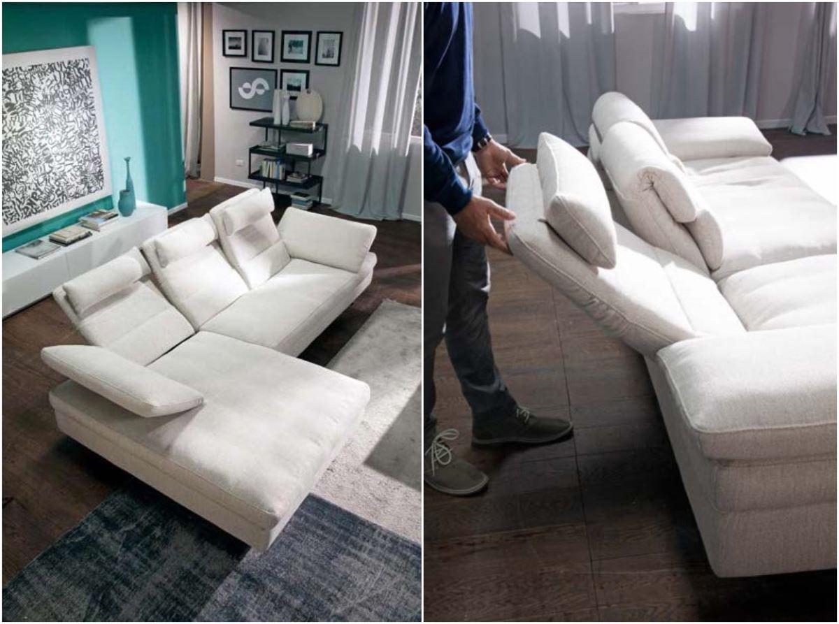 以日光浴躺椅為靈感的 DORA,可依身高、坐姿無段式調整椅背,讓在家生活如同置身度假飯店。