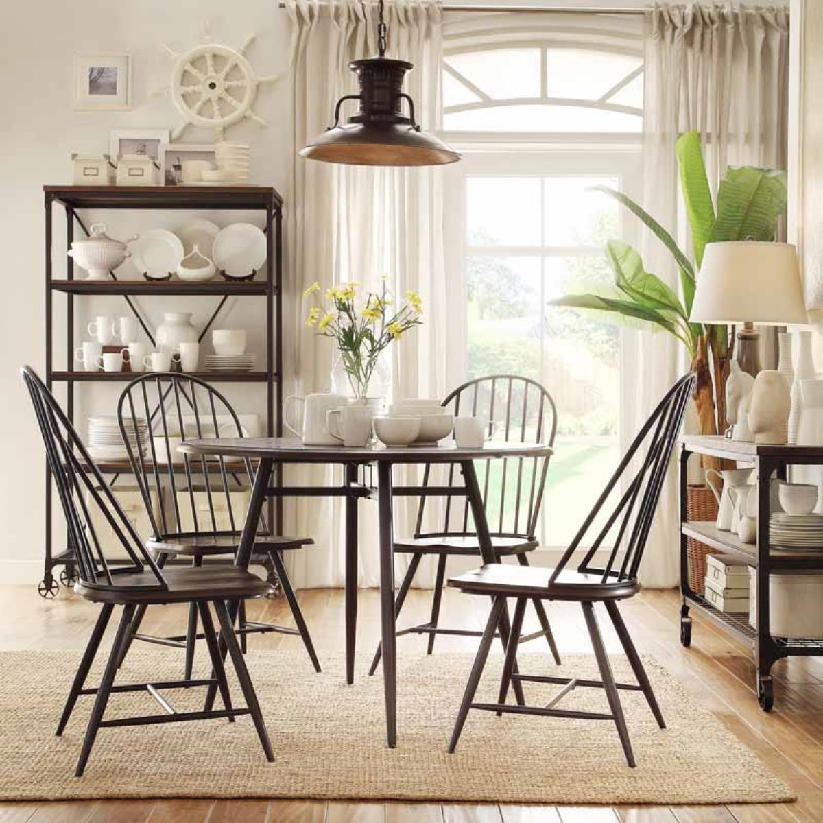 圓桌餐椅組