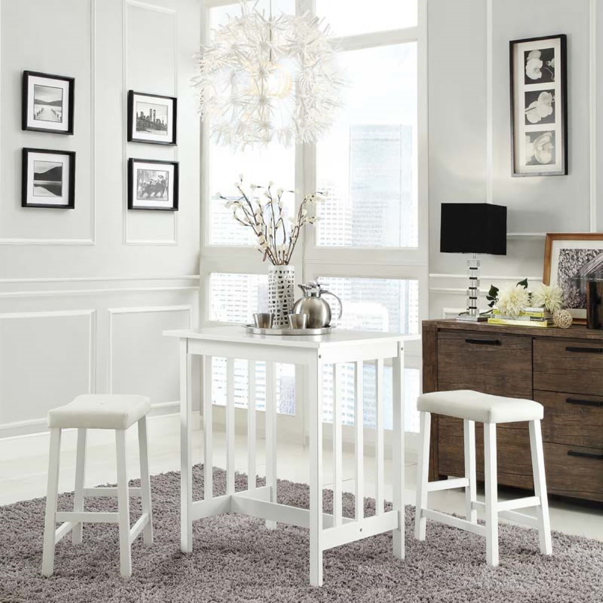 高腳餐桌椅組