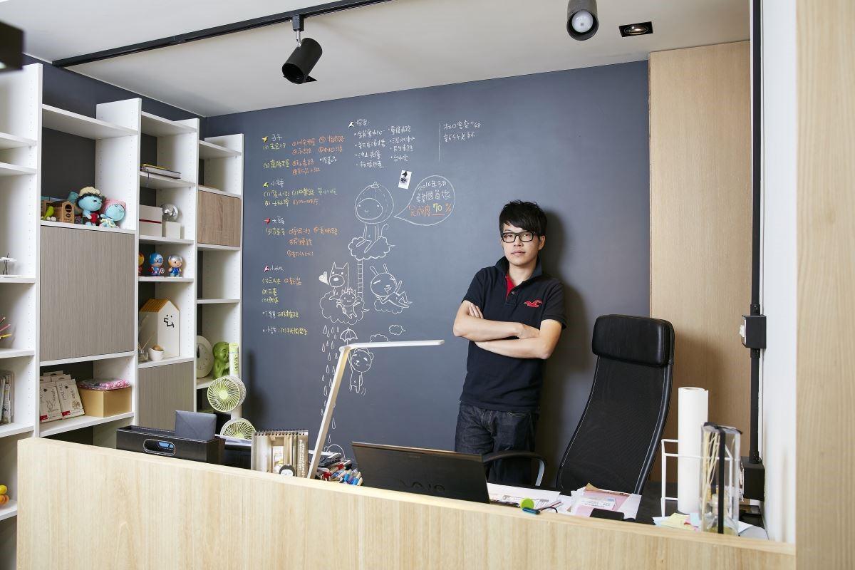 蟲點子創意設計總監鄭明輝。