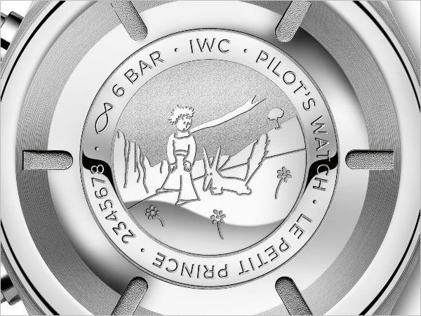 IWC 飛行員計時碼錶小王子特別版,2015年。